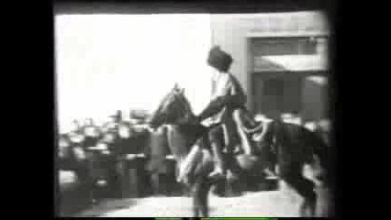 Пробег на ахалтекинцах. 30-е годы XX века.