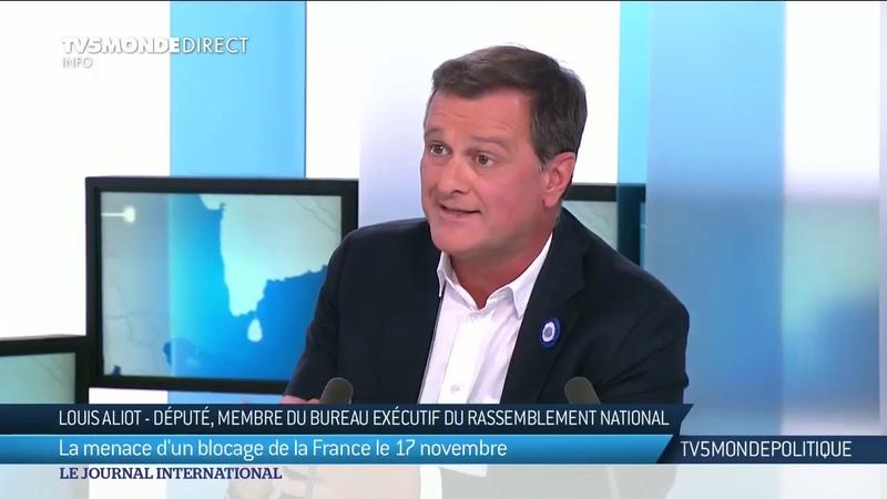 C'est toujours le peuple qui a raison : entretien avec Louis Aliot - Rassemblement national