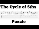 The Cycle of 5ths Puzzle - An Improvisation Study