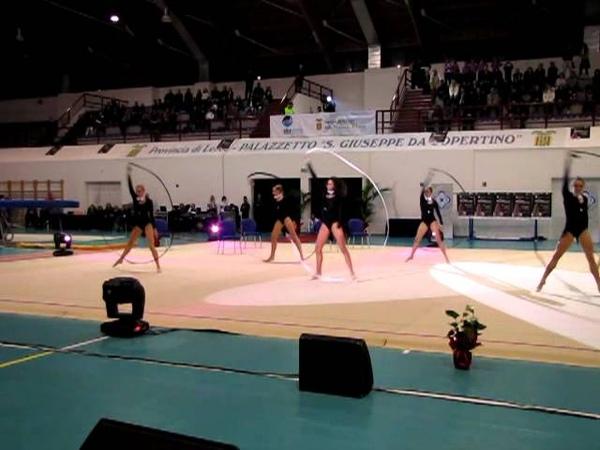 Farfalle azzurre Сборная Италии по художественной гимнастике