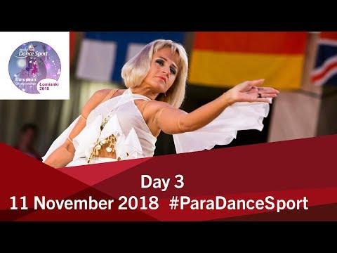 Day 3 World Para Dance Sport European Championships 2018 Lomianki