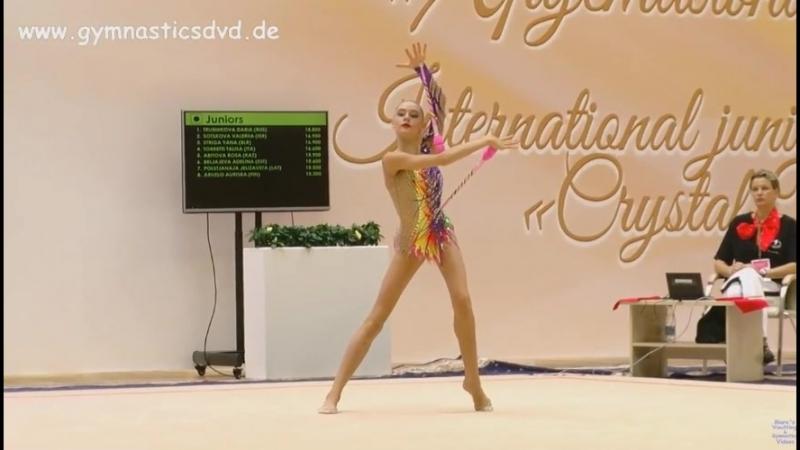 Дарья Трубникова - булавы (финал) Международный турнир 2018, Минск