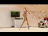 Дарья Трубникова - булавы (финал) // Международный турнир 2018, Минск
