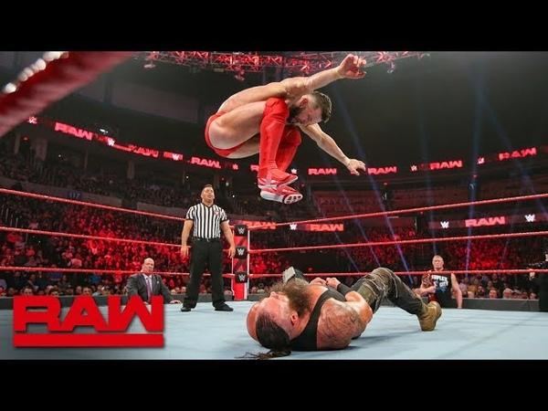 Finn Bálor vs Braun Strowman Raw Jan 21 2019