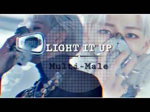 Kpop Multi-Male Light it up