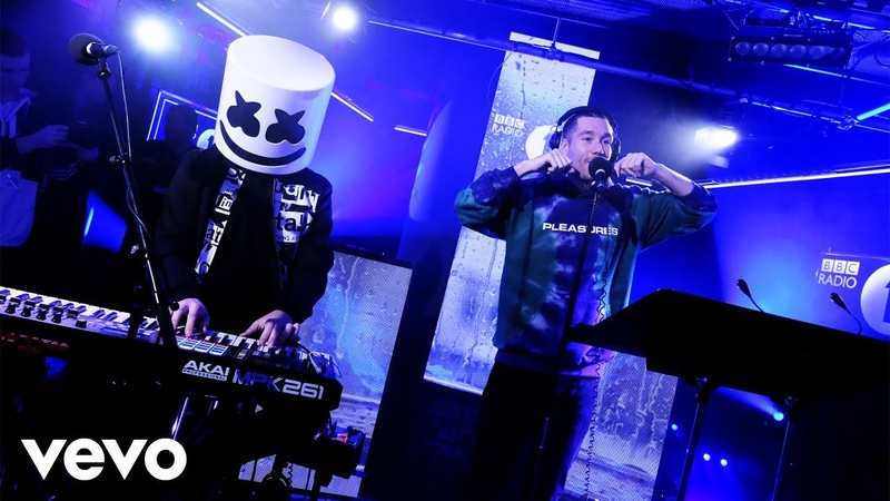 Bastille featuring Marshmello — Happier (Live Lounge)
