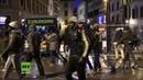Italien Afrikanische Migranten ziehen randalierend durch Florenz