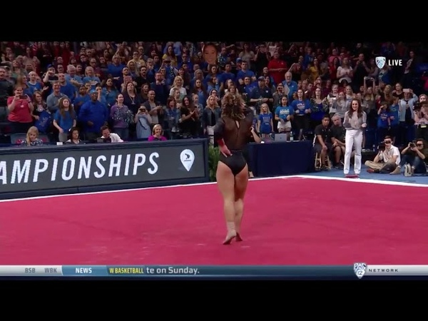 Katelyn Ohashi (UCLA) 2018 Floor PAC-12 Championships 9.95