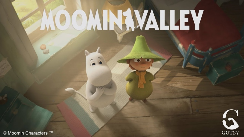 MOOMINVALLEY (2019) - Behind the scenes clip