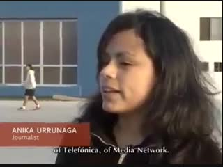 Preconceito explícito na tv peruana