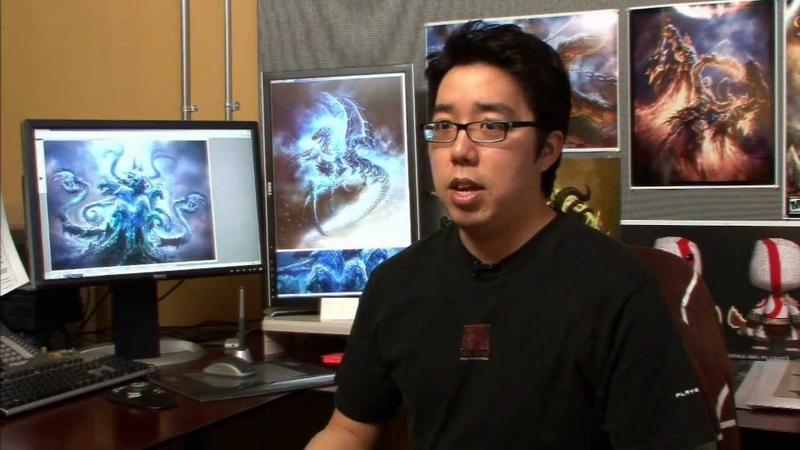 God of War 3 Bonus Features - Creating Poseidon [SCE Santa Monica Studio Development Diary]