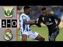 Leganes vs Real Madrid 1-0 Resumen Highlights 16/01/2019
