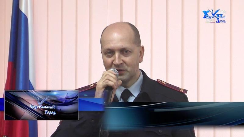 Вручение паспортов 14-летним жителям Гусь-Хрустального района