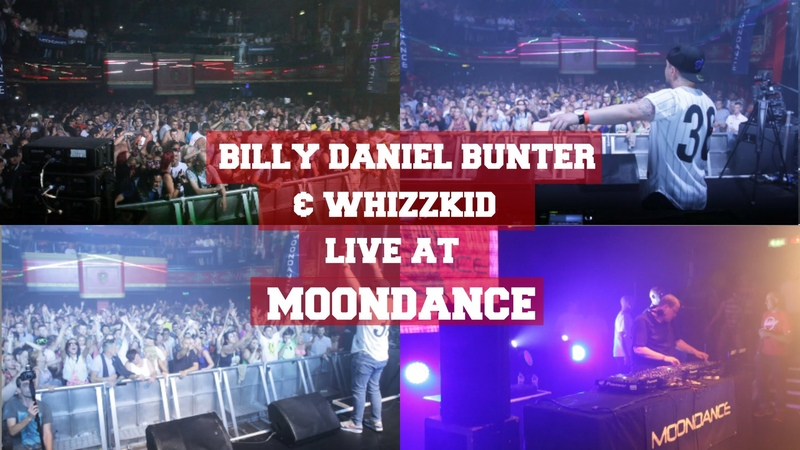 Billy Daniel Bunter Whizzkid Live at Moondance