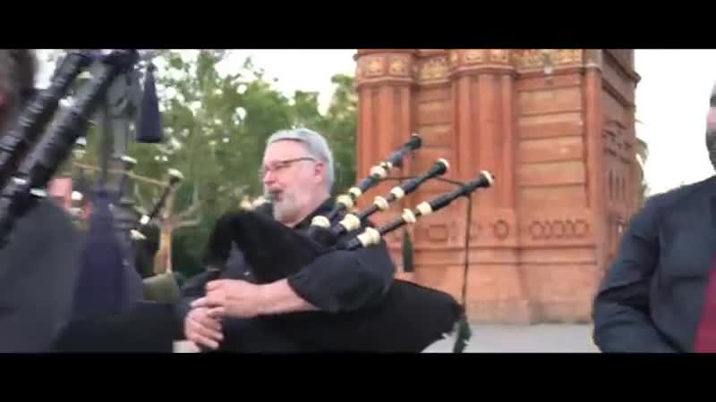 Amazing Grace Bagpipes - The Snake Charmer ft. Barcelona Pipe Band