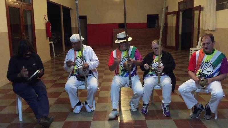UNICAPOEIRA: Meia Lua/56 Anos. Clube Cultural Tiguera. M. Polêmico, Antônio, Francisco. Som. 18jun18