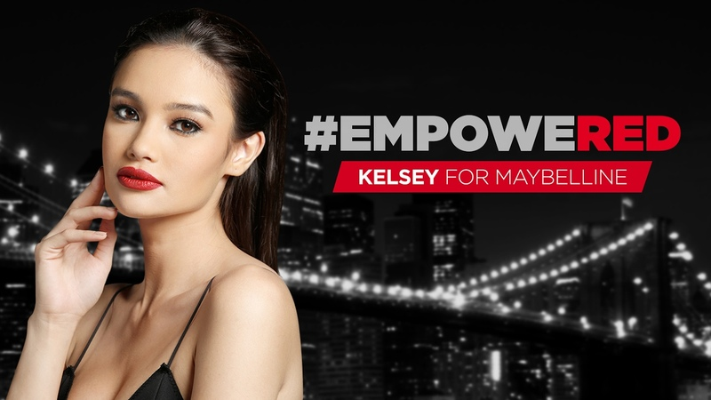 Red Lipsticks | Maybelline Color Sensational Kelsey Merritt is empoweRED to MakeItHappen!