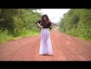 Африканская скрипка Замбия Piękna dziewczyna Caitlin De Ville jest z Zambii