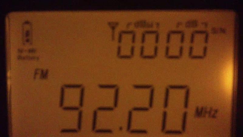 92.2 Star FM(Karitsa)~287km
