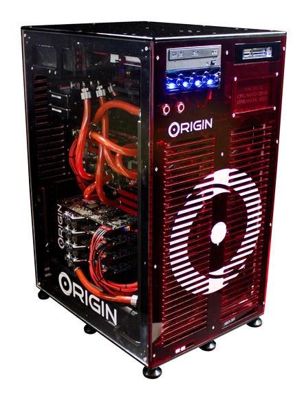 Игровая система Origin PC Big O объединяет