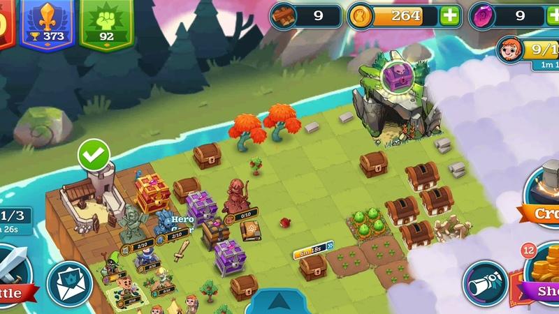 Merge Kingdom! Iphone/Ipad/Android Gameplay 16 1080p