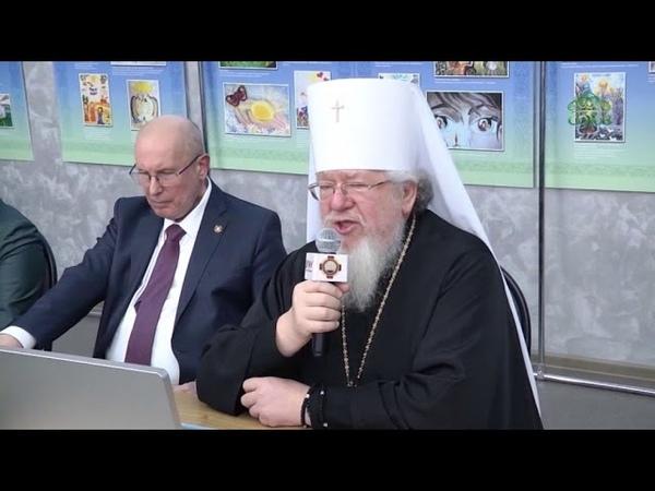 Митрополит Воронежский и Лискинский Сергий встретился со студентами и педагогами медуниверситета.