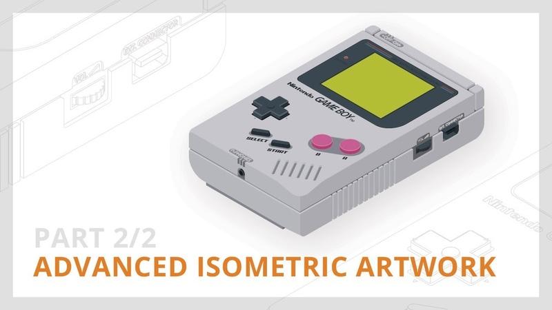 Advanced Isometric Artwork [22] | Illustrator Tutorial
