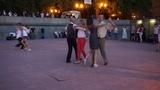 Медленный фокстрот 1 - Open air - Бальные танцы в Парке Горького, Москва, 14 августа 2018