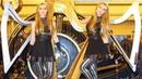 BLACK SABBATH Iron Man - 2 Girls 3 Harps (Harp Twins) HARP METAL