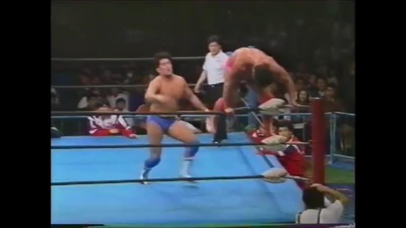 1995.03.30 - Kenta Kobashi vs. Jun Akiyama [JIP]