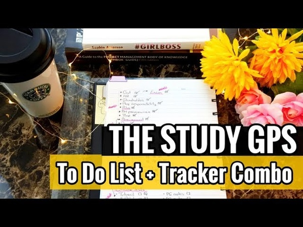 The Study GPS | Combining To Do Lists Progress Trackers