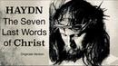 Haydn The Seven Last Words of Christ Version Originale Century's recording Antoni Ros Marbà
