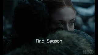 Cảnh đầu tiên hé lộ của Trò chơi Vương quyền Phần 8: Sansa chào đón Jon trong lạnh lùng