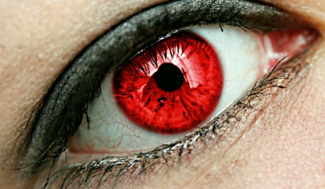 Эмоции картинки, картинка красные глаза