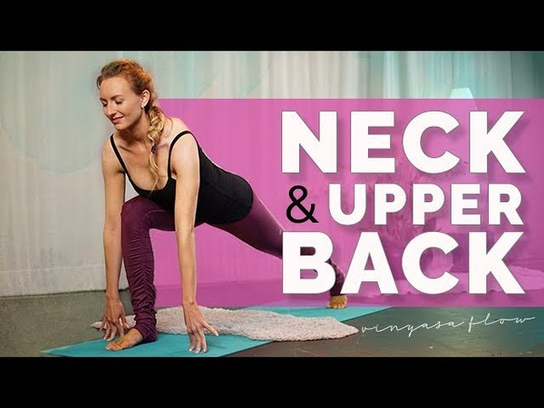Quickie Yoga for Neck and Upper Back Pain 14 min