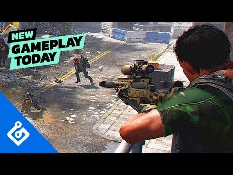 New Gameplay Today – The Division 2's Dark Zone