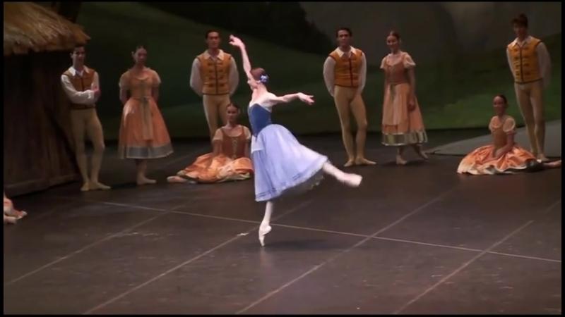 2016-04-10 Teatro alla Scala, Giselle variation, Svetlana Zakharova, Roberto Bolle Светлана Захарова, Робеpто Болле