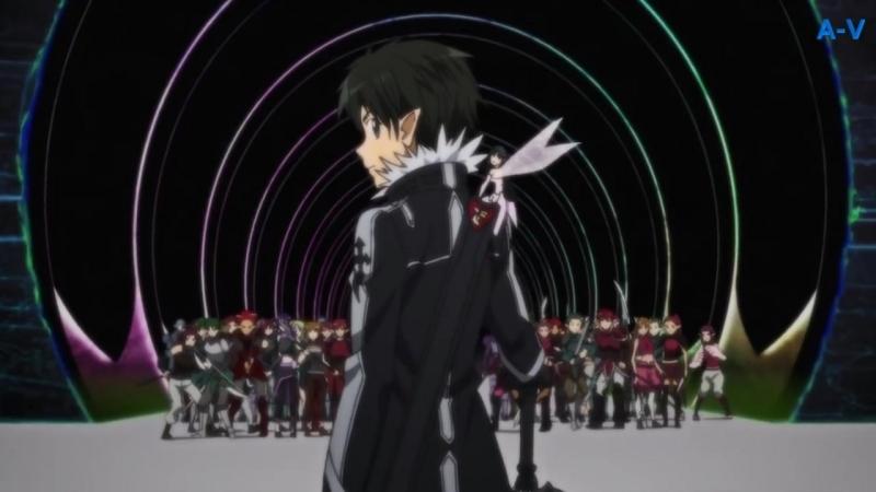 """Sword Art Online ll - Неожиданная помощь кирито гильдии """"Спящие Рыцари."""" (ALO.)"""