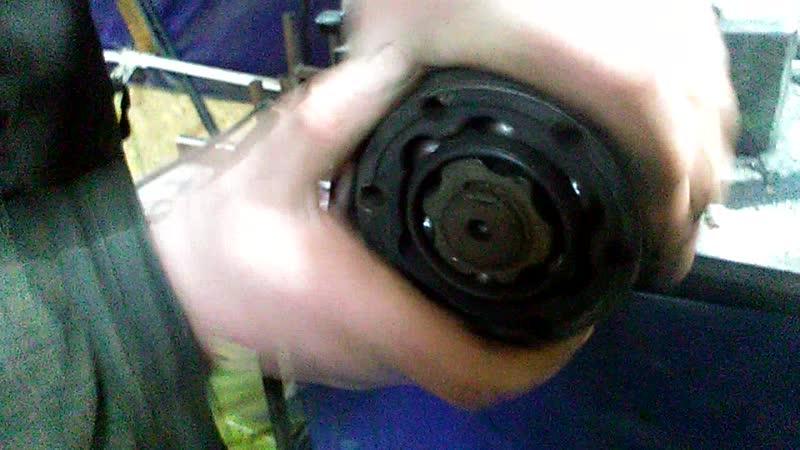 Люфт во внутреннем ШРУС Skoda Fabia 2.