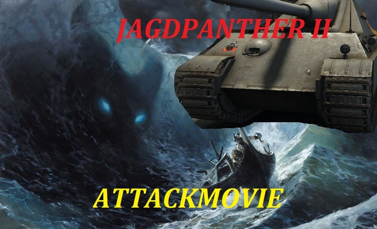 Jagdpanther II Frag Movie Attack Movie 7 Top World of Tanks FragMovies