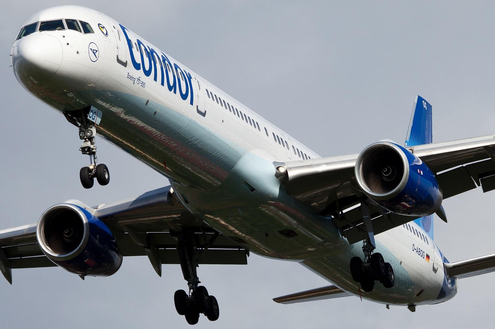Boeing 757-300 крупным планом