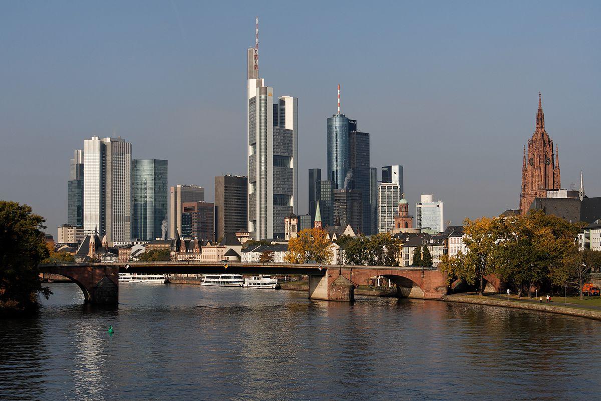 Деловой центр Франкфурта-на-Майне