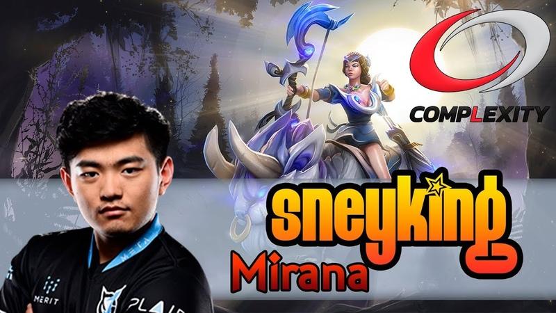 Sneyking / Mirana / Patch 7.19, pro gameplay
