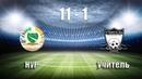 Обзор матча - Нур 11:1(5:0) Учитель 23.12.18