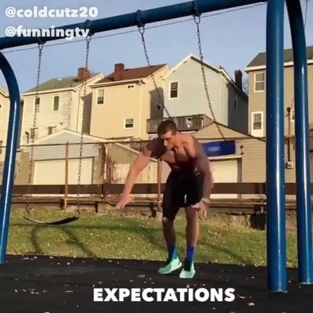 Sport expectation reality