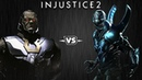Injustice 2 - Дарксайд против Синего Жука - Intros Clashes (rus)
