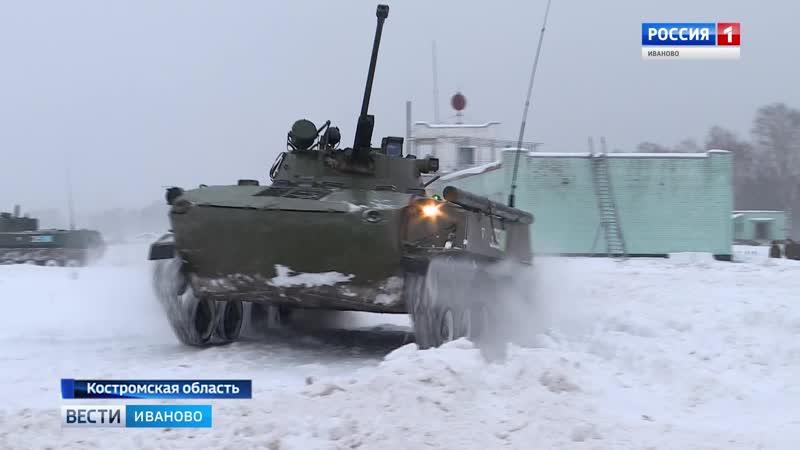Ивановские десантники соревнуются в военном многоборье