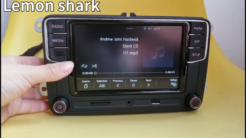 Desai RCD330 radio media multimedia functions
