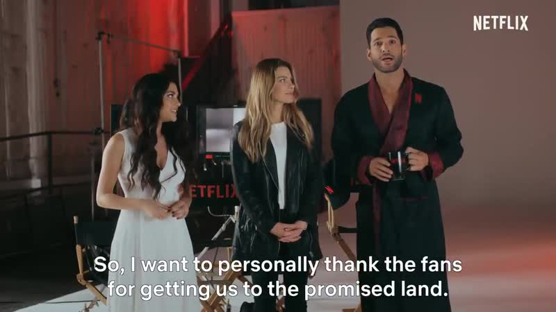 Well now we know @tomellis17 has really settled in here at @netflix 👀 lucifer