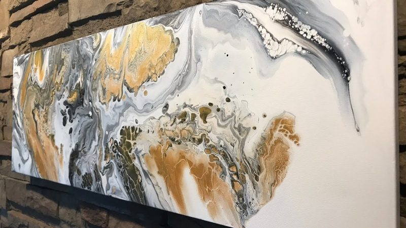Fluid Painting Extreme Swipe Technique Acrylic Pouring Wigglz Art Beginners Welcome Please Share